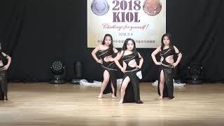 2nd Place 오리엔탈 초등저 단체 전소라아이그룹