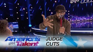 Eric Jones: Magician Smashes The Judges' Expectations With A Magic Trick - America's Got Talent 2017