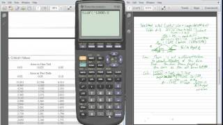 Math 1342 - Statistics: tcdf - Calculating P-Values for Hypothesis tests about a mean