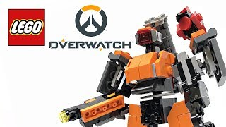 LEGO Overwatch Omnic Bastion review! 2018 set 75987!