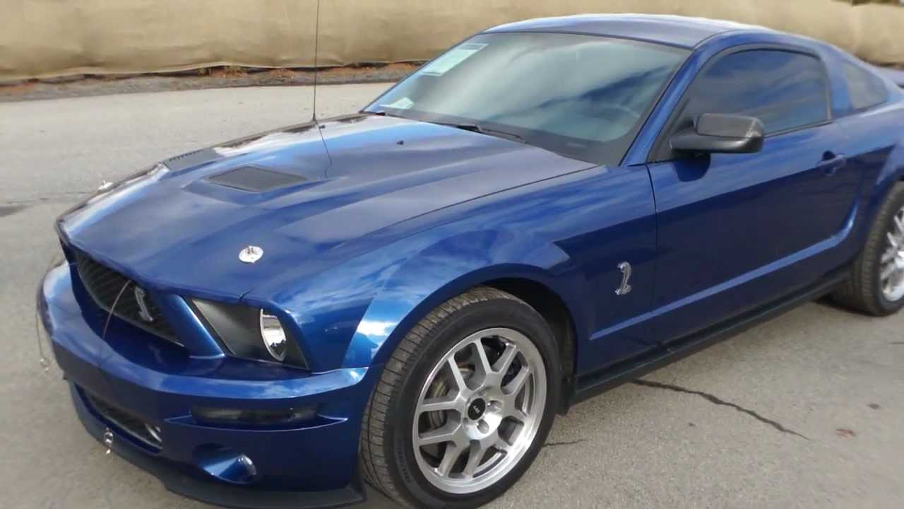 2008 ford mustang shelby gt500 for sale supercharged youtube. Black Bedroom Furniture Sets. Home Design Ideas