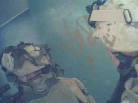 3/2 Marines on patrol