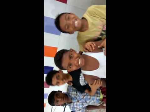 Happy Home Bahraich (UP) children enjoy the rainy season
