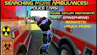 Searching More Ambulances! & Police Cars found Asylum Restraint!