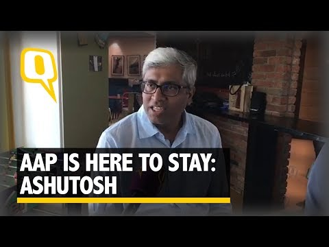 'AAP is Here To Stay' Says Ashutosh After Party's Bawana Victory