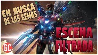 ¿Escena Filtrada De Avengers 4: Endgame? Iron Man Y Capitan America Buscan Las Gemas Del Infinito
