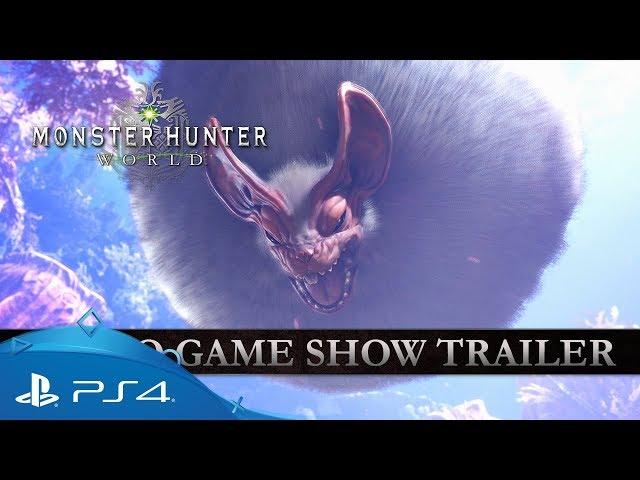 Monster Hunter: World | Tokyo Game Show Trailer | PS4