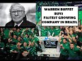 Warren Buffets new investment.  StoneCo potential for massive growth?