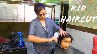 ASMR Kid Hair CUT by Female Barber Episode 05