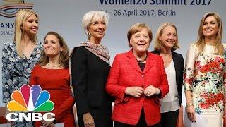 Angela Merkel Hosts Ivanka Trump In Germany: Bottom Line | CNBC