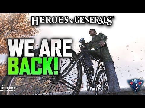 WE ARE BACK!   Heroes & Generals (German Paratrooper) Gameplay