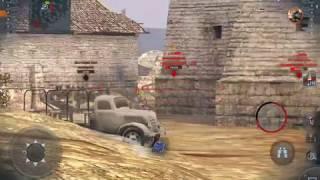 World of Tanks Blitz MK1 Heavy Tank Tier 1 British Heavy Review+Gameplay!