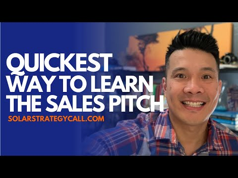 The quickest way to learn the solar sales pitch