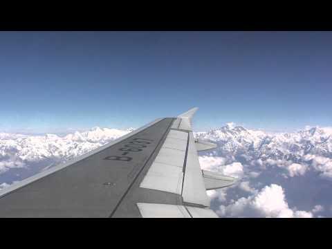 Air China CA407 CA408Chengdu - Kathmandu via Lhasa