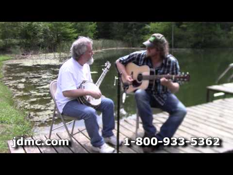 Bluegrass Jam - Nine Pound Hammer and I'll Fly Away on Huber Banjo and Martin Guitar by JDMC Staff