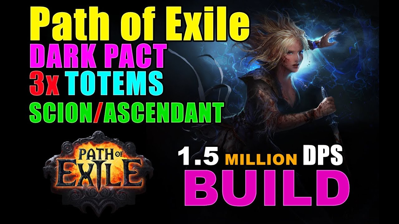 Path Of Exile Dark Pact Build