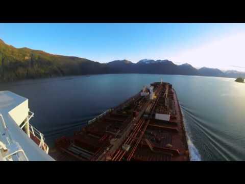 Overseas Martinez coming into Valdez, AK