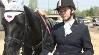 Будущие чемпионки конного спорта