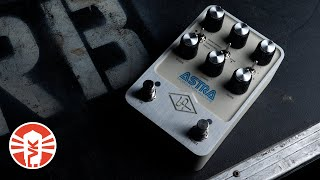 Exploring The Modulation Sounds Of The Universal Audio UAFX Astra Modulation Machine Pedal