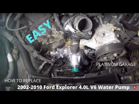 02-10 Ford Explorer / Mercury Mountaineer Water Pump Replacement