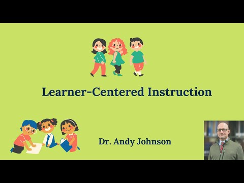 Learner Centered Instruction Youtube