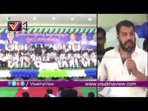 YSRCP MLA Anil Kumar Yadav superb speech in Nellore District Party Plenery Meeting