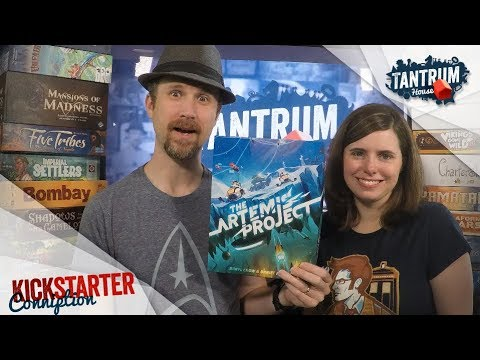 The Artemis Project Board Game Preview. Campaign link - https://www.kickstarter.com/projects/697528475/the-artemis-project?ref=2apd67 Kevin and Melissa look at a prototype of The Artemis Project by.... Youtube video for project managers.
