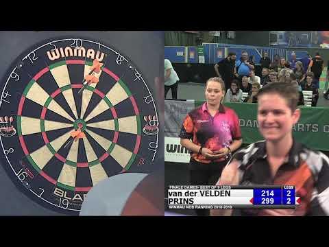 Winmau NDB Ranking Finale Dames Open Rotterdam 2018-2019