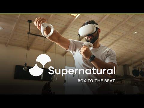 超自然宣布超自然拳击:一个完整的身体健身体验的家和以外