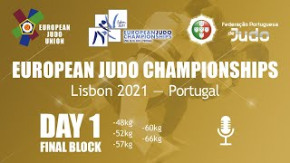 Day 1: Finals - European Judo Championships 2021