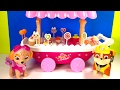 Colors & Food Names for Children  - Paw Patrol Ice Cream Cart