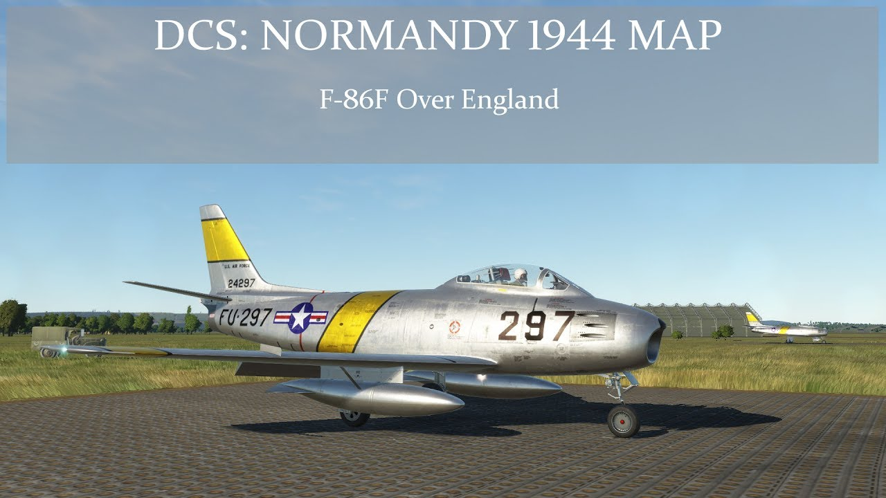 Dcs normandy 1944 map f 86f over england youtube dcs normandy 1944 map f 86f over england gumiabroncs Image collections