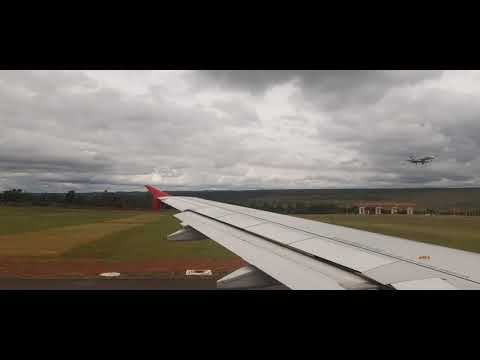 Vôo latan saindo de Brasília pra Santarém