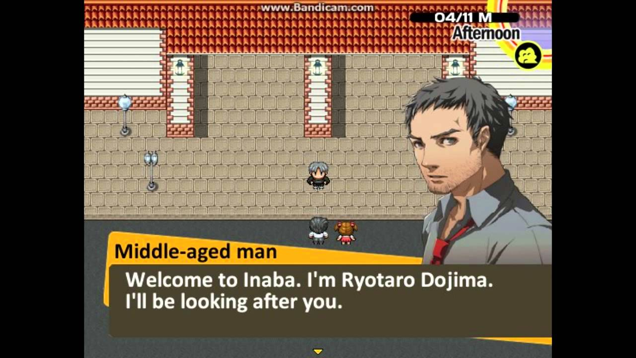 RPG Maker VX Ace Persona 4 Fangame YouTube