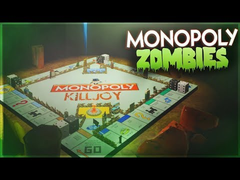 ¡ZOMBIS EN EL MONOPOLI!