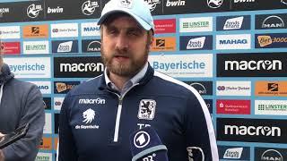 Die Löwen vor dem Heimspiel gegen Halle: Die Bierofka-PK