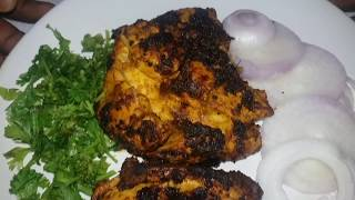 tandoori -preparation of tandoori at home in tamil