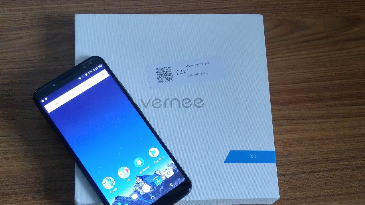 Vernee X1 | 6GB RAM, 64GB ROM | Review & Unboxing [HD]