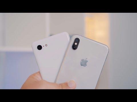 Camera Test: Google Pixel 3 XL vs  iPhone XS Max