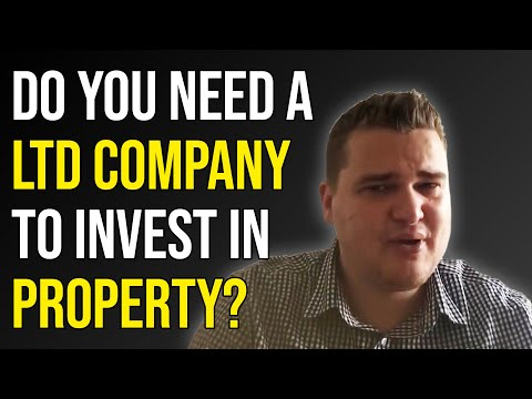 Do I need a limited company to invest in property?