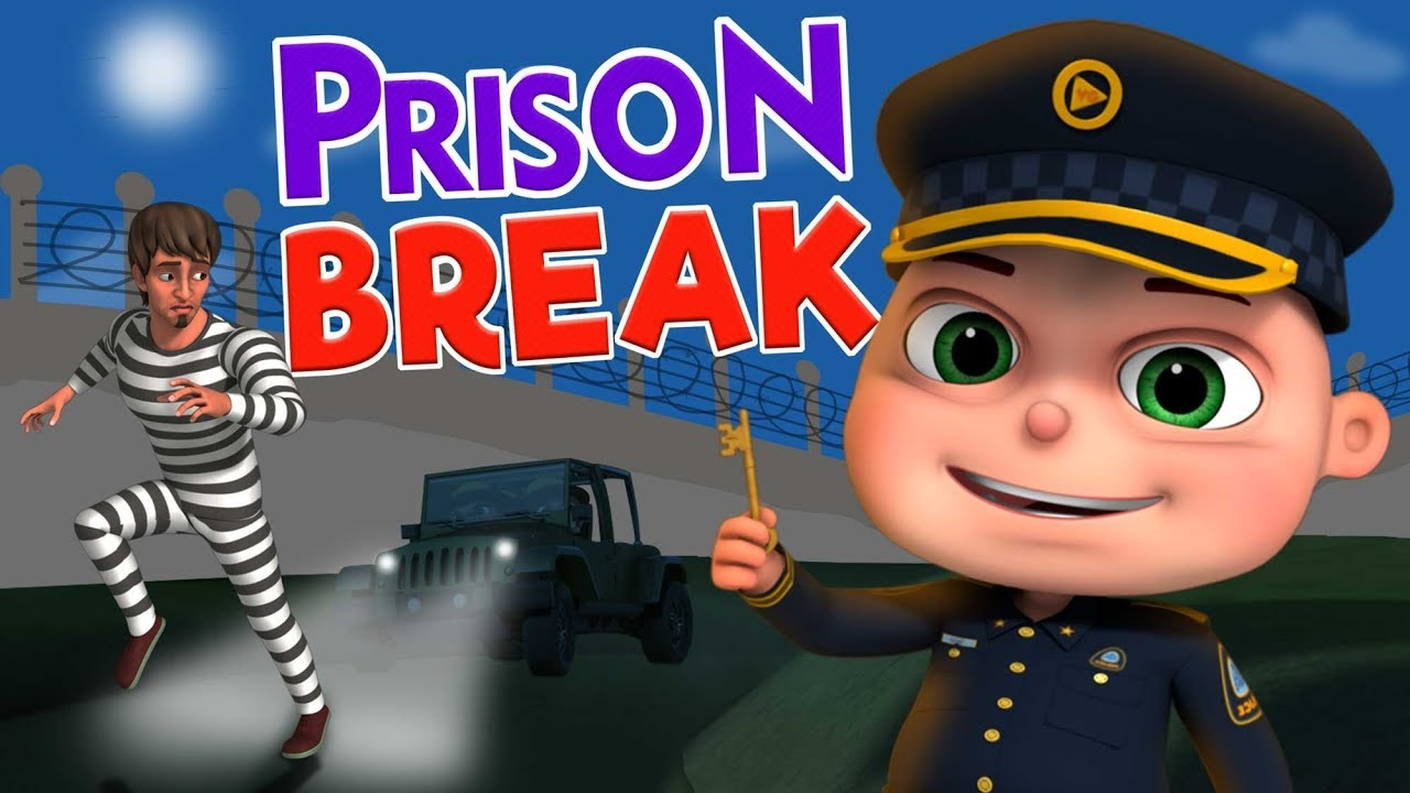 Download Prison Escape And More Police & Thief Episodes   Cartoon Animation For Children   Kids Shows