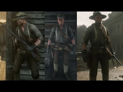 Red Dead Redemption 2 - US Army Uniform (Tutorial)