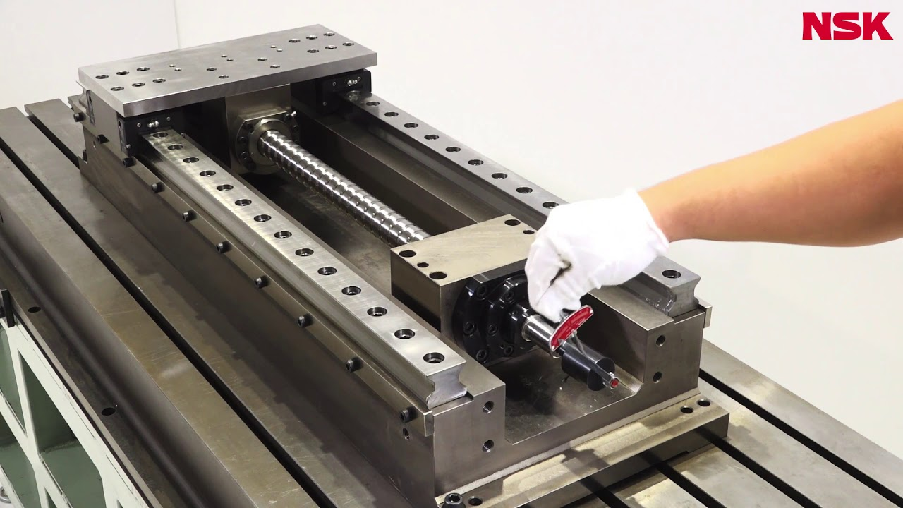 Linear rail and ball screw design and animation youtube.