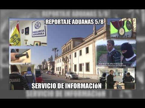 ADUANAS 5/8: Servicio de investigacion, Algeciras - Aduanas SVA