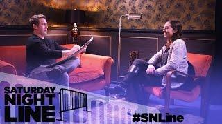 Saturday Night Line: SNL's Beck Bennett Draws Portraits of Fans