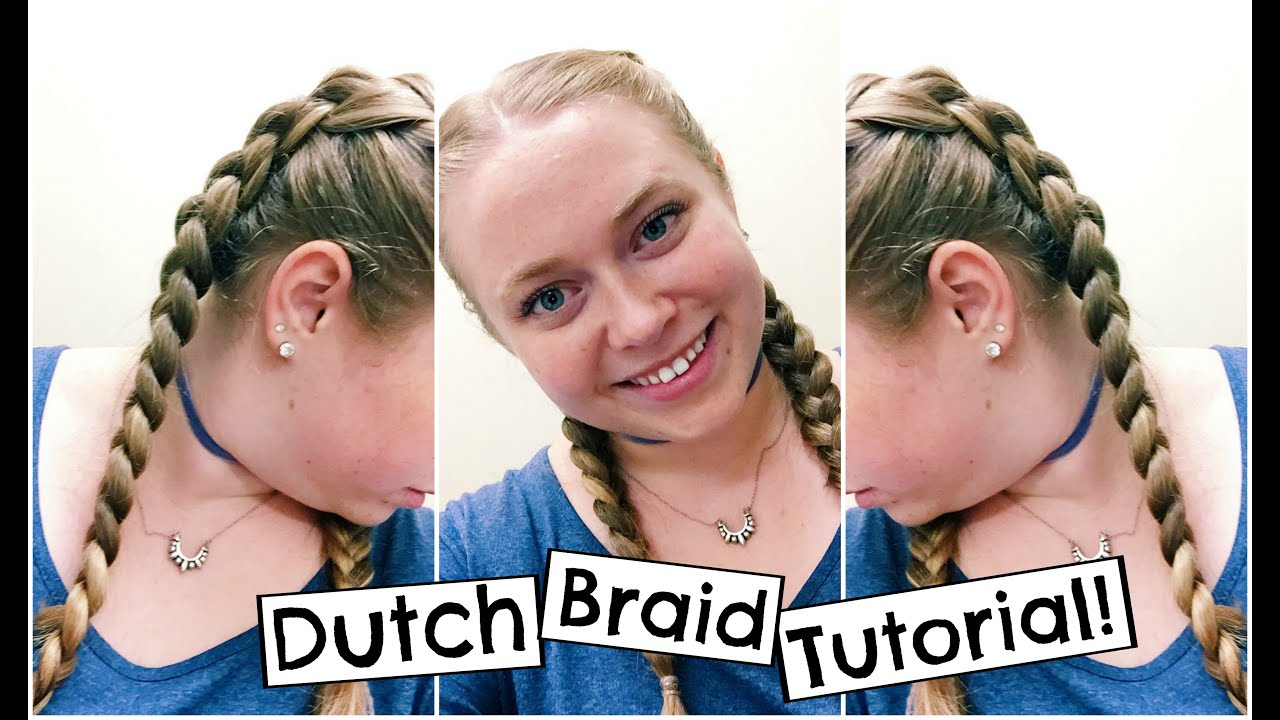 How To: Double Dutch Braid Tutorial For Beginners!  Quick And Easy  Hairstyle For Back To School!