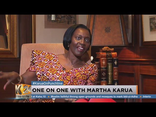 Punchline: Why Martha Karua refused to join Uhuru's Cabinet