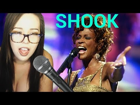My Best Vocal Performance Yet! WHITNEY HOUSTON IS SHOOK