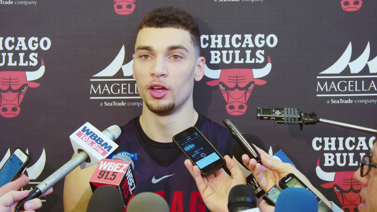 3e226c3a0aee Zach LaVine s Return Press Conference. Chicago Bulls