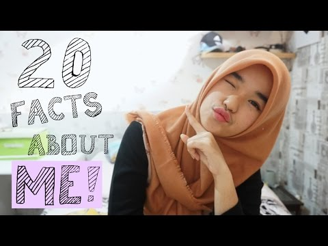 20 Facts About Me! (Indonesia) || Nada Syifaa